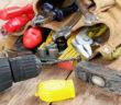 Werkzeugtasche mit Werkzeug