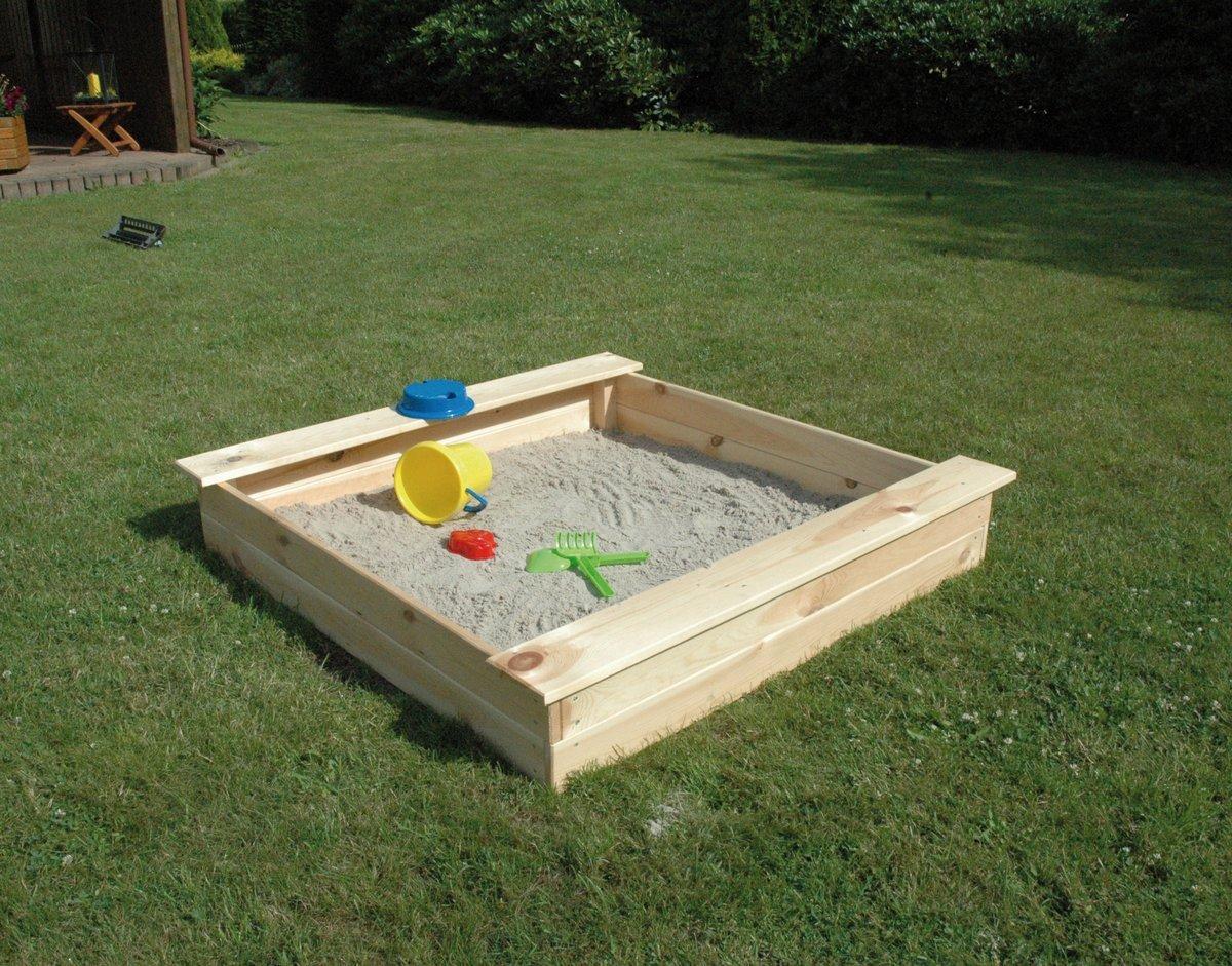 Sandkasten für Kinder einfach selbst bauen +++ heimwerkerherz.de