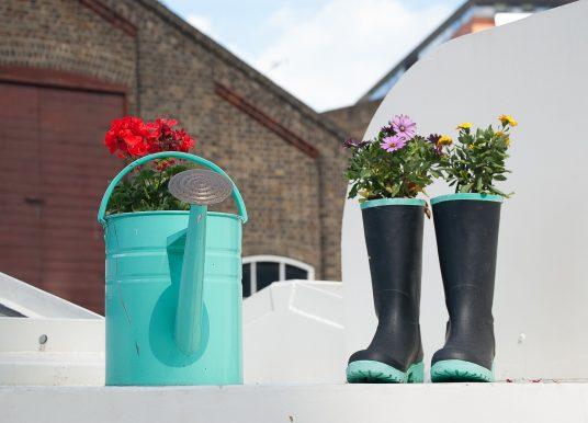 Wie man den Garten schön und unterhaltsam gestalten kann